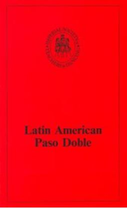 Picture of Latin American Technique - Paso Doble (BOOK)