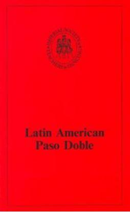 Picture of Latin American Technique - Paso Doble (BOOK)