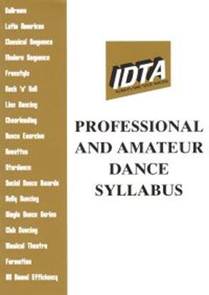 Picture of Professional & Amateur  Dance Syllabus 2006
