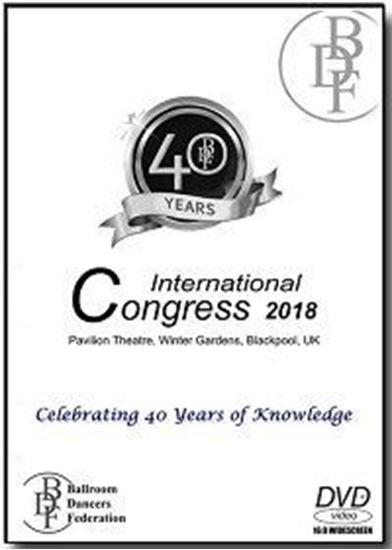 Picture of Ballroom Dancers Federation Int'l Congress 2018 (5 DVD)