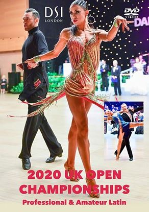 Picture of 2020 UK Open Championships Latin (DVD)
